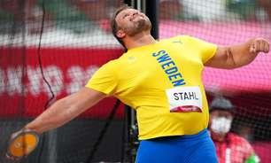 Sueco fica com o ouro na milésima prova do atletismo