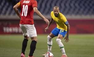 """""""Podíamos ter feito mais um gol"""", diz Daniel Alves"""