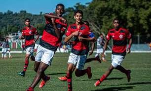 Por prêmio para geração afetada pela pandemia, Flamengo encara o Flu em busca do título da Copa Rio Sub-15