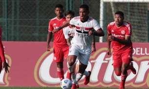 São Paulo empata por 1 a 1 com o Internacional e segue na liderança do Campeonato Brasileiro Sub-20