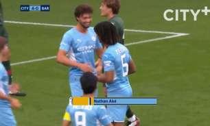 Confira em vídeo os melhores momentos da vitória do Manchester City por 4 a 0 sobre o Barnsley
