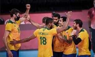 Brasil encara o Japão nas quartas do vôlei masculino