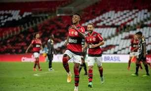 Bruno Henrique crava seu nome na história do clássico entre Flamengo e Corinthians
