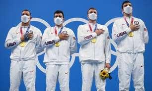 Atrás da China, Estados Unidos usa quadro de medalhas diferente e coloca país em primeiro no ranking