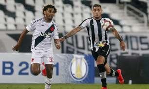 Desorganização defensiva e posse improdutiva marcam derrota do Vasco no clássico com o Botafogo