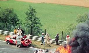 Na Garagem: Lauda fica preso em bola de fogo após acidente terrível no GP da Alemanha
