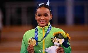 Primeira brasileira com duas medalhas em uma mesma Olimpíada, Rebeca Andrade lidera conversas no Twitter