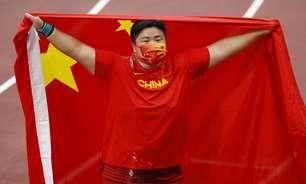 Chinesa Gong Lijiao é ouro no arremesso de peso