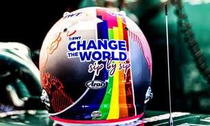 """Hamilton elogia Vettel após posição pró-comunidade LGBTQIA+ na Hungria: """"É preciso"""""""