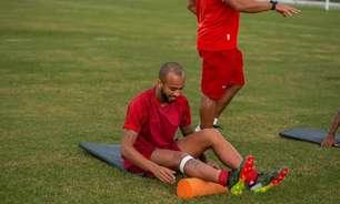 Wesley, do CRB, quer grande jogo contra Fortaleza pela Copa do Brasil