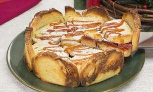 Torta de rabanada com goiabada pronta em 45 minutos