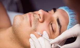 Mais homens buscam por harmonização facial