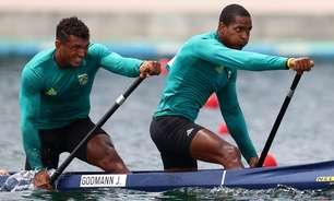 Isaquias e Jacky Godmann avançam às semifinais do C2 1000m