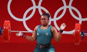 Jaqueline Ferreira é eliminada no levantamento de peso