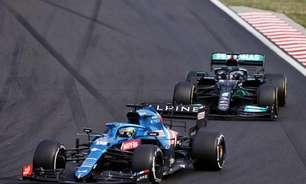 """Alonso diz que Hamilton cometeu """"pequenos erros"""" durante disputa na Hungria"""