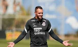 Novidade no treino do Corinthians, Renato Augusto não esconde ansiedade de voltar a jogar
