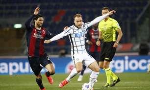 Eriksen volta a Milão para exames e se reúne com CEO da Inter