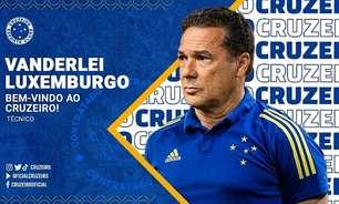 Cruzeiro acerta volta do técnico Vanderlei Luxemburgo para salvar time na Série B