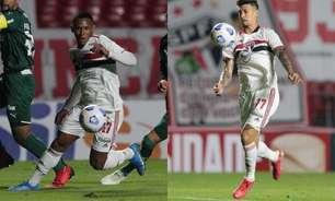 Sem Rigoni e Marquinhos, ataque do São Paulo vira dúvida para a próxima rodada do Brasileirão