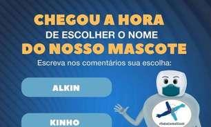 Governo do DF faz enquete para nome de mascote contra covid: Álcool Gelson, Kinho ou Alkin