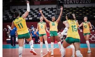 Vôlei feminino: saiba quando será o próximo confronto do Brasil e onde assistir aos jogos dos Jogos Olímpicos