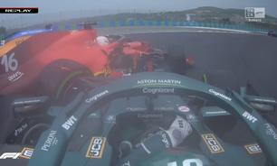 """Ferrari confirma que motor de Leclerc no GP da Hungria sofreu danos """"irreparáveis"""""""