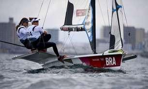 Imbatíveis! Martine e Kahena são bicampeãs olímpicas na vela