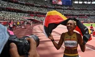Alemã conquista ouro em prova acirrada do salto em distância