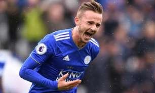 Arsenal pensa envolver atleta em negociação por meia do Leicester