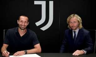 """Chiellini renova com a Juventus: """"Nunca duvidei que meu futuro era aqui"""""""