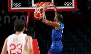 EUA batem os espanhóis e mantêm o sonho do tetra no basquete
