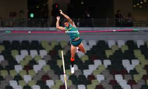Thiago Braz é bronze no salto com vara