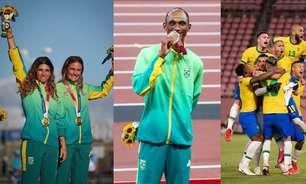 7 momentos emocionantes dos brasileiros nas Olimpíadas