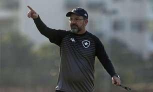 Enderson adota calma no Botafogo: 'Não é porque estamos com bons resultados que está tudo certo'