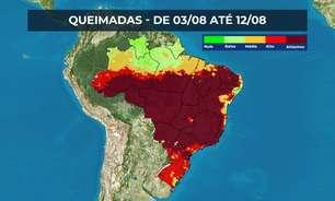 Cerrado e outros biomas brasileiros estão em chamas