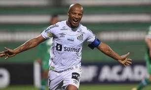 Sánchez comemora primeira vitória fora de casa do Santos no Brasileirão