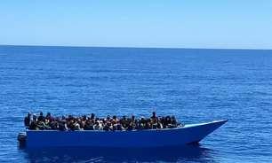 Itália salva mais de 400 pessoas no Mediterrâneo