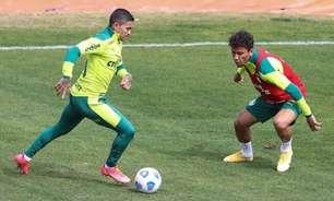 Dudu treina sem restrições, e Palmeiras dá sequência à preparação para jogo contra Fortaleza