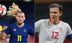 Suécia x Canadá: onde assistir e as prováveis escalações da final do futebol feminino nos Jogos Olímpicos