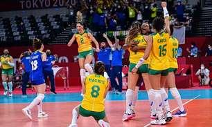 Classificação da seleção de vôlei feminino atrai grande público e dobra a audiência da Globo