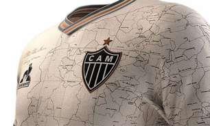 Camisa especial de aniversário do Atlético-MG bate recorde de vendas