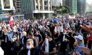 Um ano após explosão, Líbano tem protesto marcado por confronto