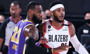 Lakers confirmam Carmelo Anthony e apostam em veteranos para próxima temporada