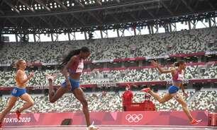"""Final feminina dos 400m com barreiras vê """"chuva"""" de recordes"""