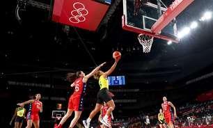 EUA atropelam Austrália e chegam à semi no basquete feminino