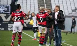 VÍDEO: Renato brinca com Gabigol: 'O que você tem de idade, tenho de título'