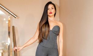 Juliette usa look de R$ 2,7 mil no programa do Fábio Porchat