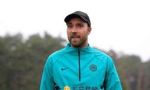Eriksen volta à Inter de Milão após drama na Eurocopa; veja os bastidores