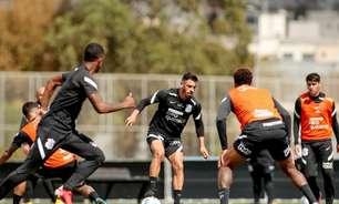 Corinthians se reapresenta e segue preparação para duelo com o Santos