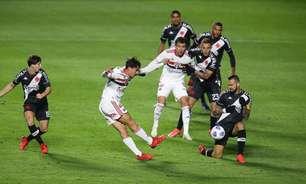 São Paulo entra em campo contra o Vasco para manter ótimo retrospecto em mata-matas